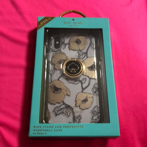 IPHONE X CELL PHONE CASE (KATE SPADE)